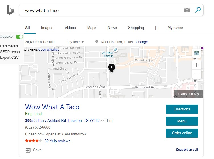 bing places houston local seo destiny marketing solutions