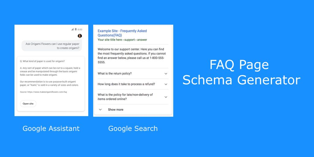 faq page schema generator destiny marketing solutions