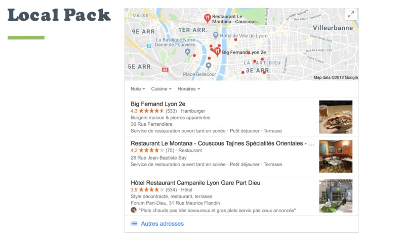 google local 3 pack destiny marketing solutions