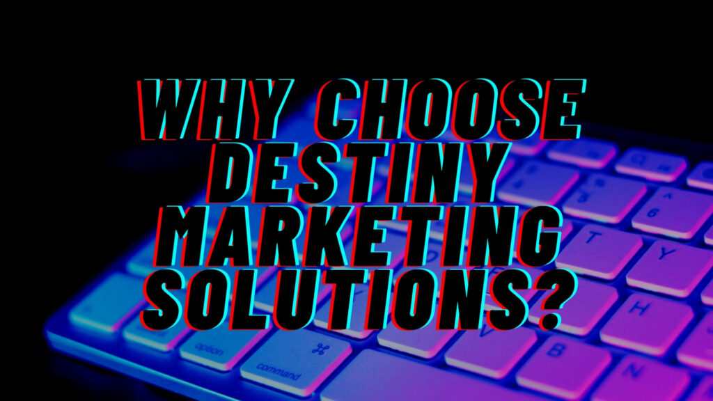 google search console destiny marketing solutions