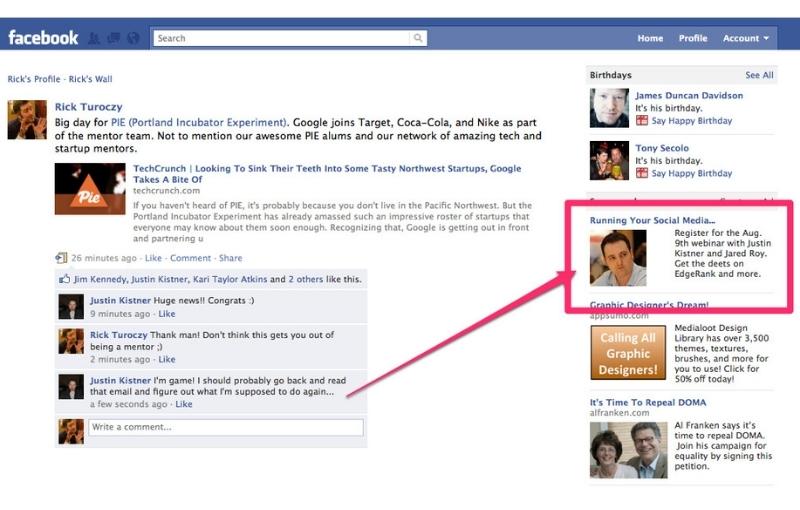 financial advisors use facebook ads destiny marketing solutions