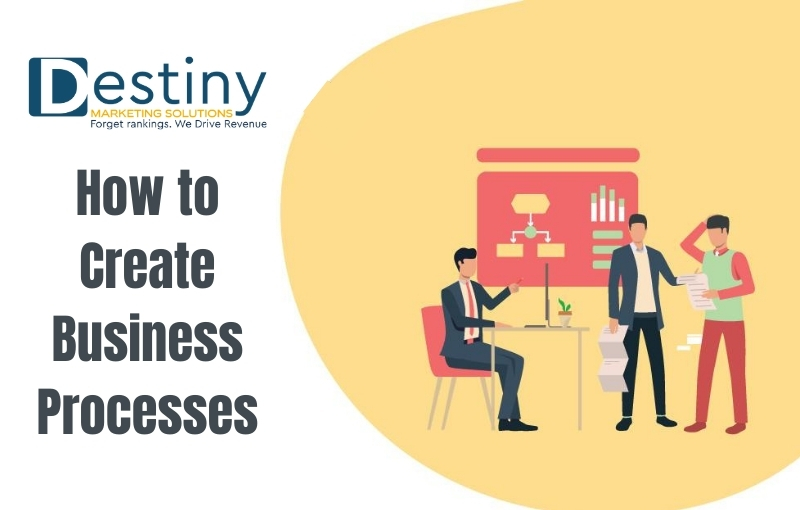 how to create business processes destiny marketing solutions