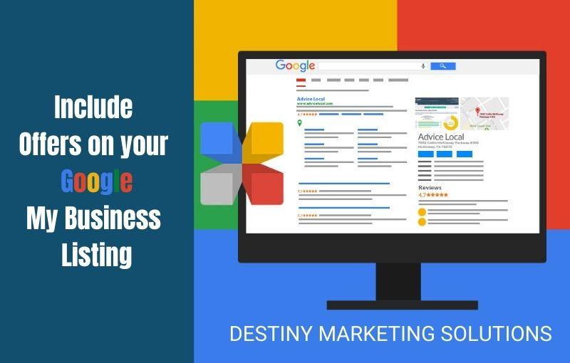 include offers on your google my business listing destiny marketing solutions