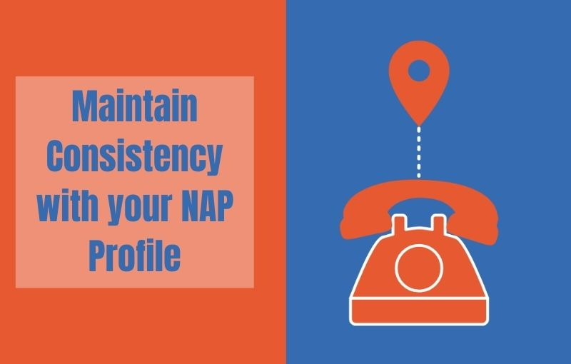maintain consistency with your nap profile destiny marketing solutions