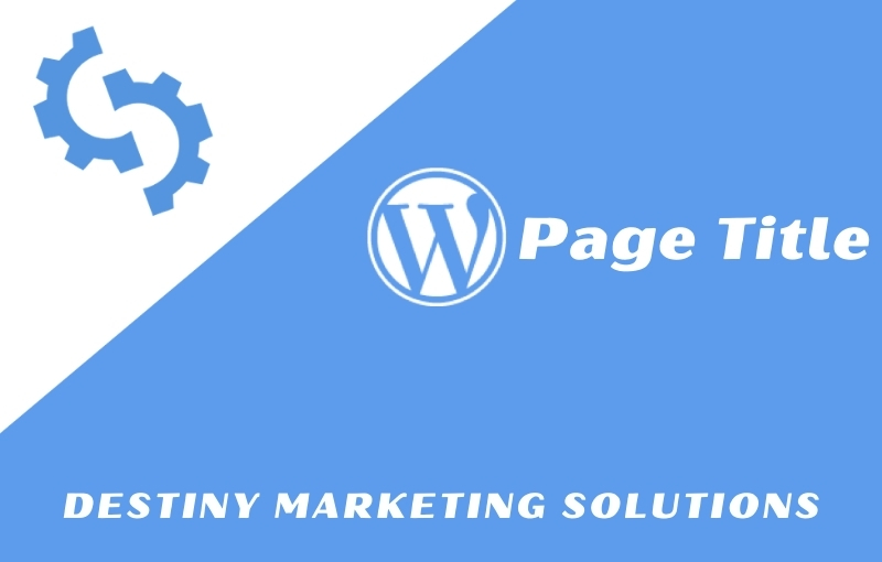 page title destiny marketing solutions